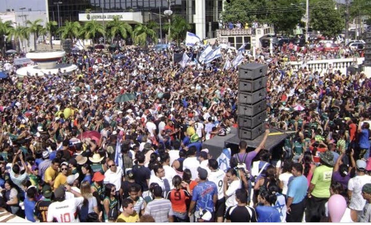 Nomeados no governo e no Senado, dirigentes da Ameacre têm dificuldades para mobilizar fiéis na Marcha para Jesus