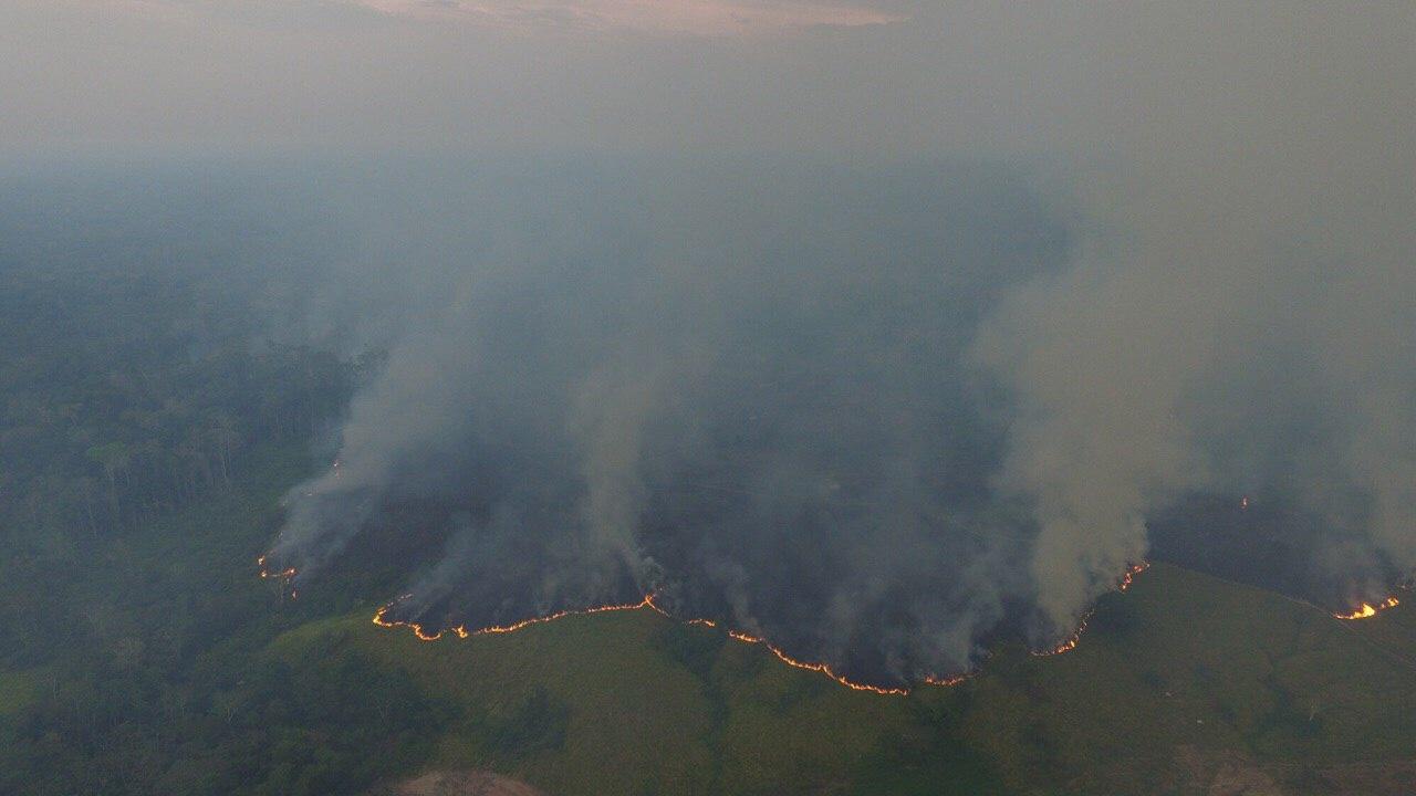 """""""Estão querendo transformar em cinzas um bem tão precioso"""", afirma liderança indígena sobre desmate e queimada na Amazônia"""