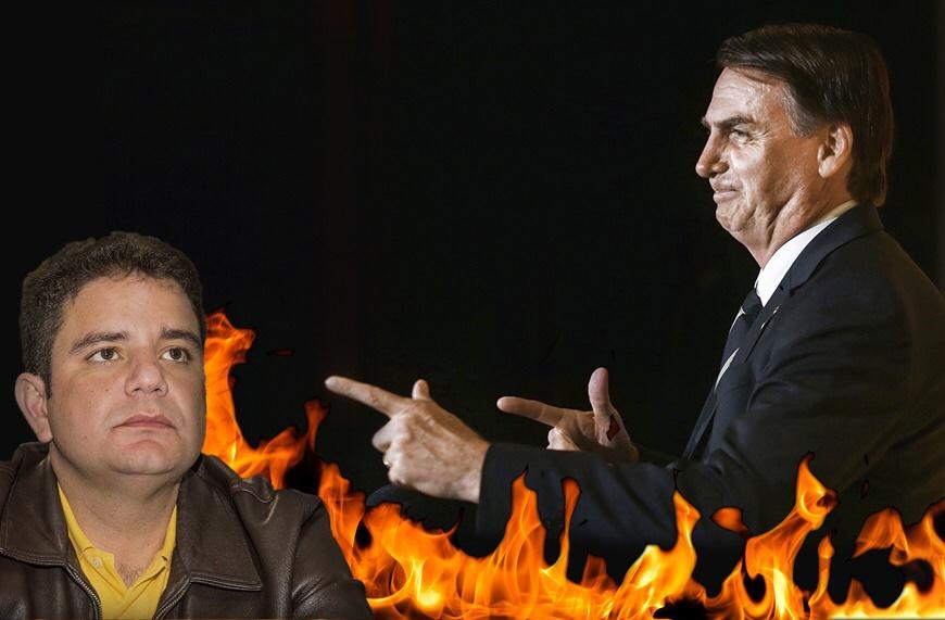 Bolsonaro afirma que governadores são coniventes com desmatamento na Amazônia; Gladson Cameli deu licença para cometer crime