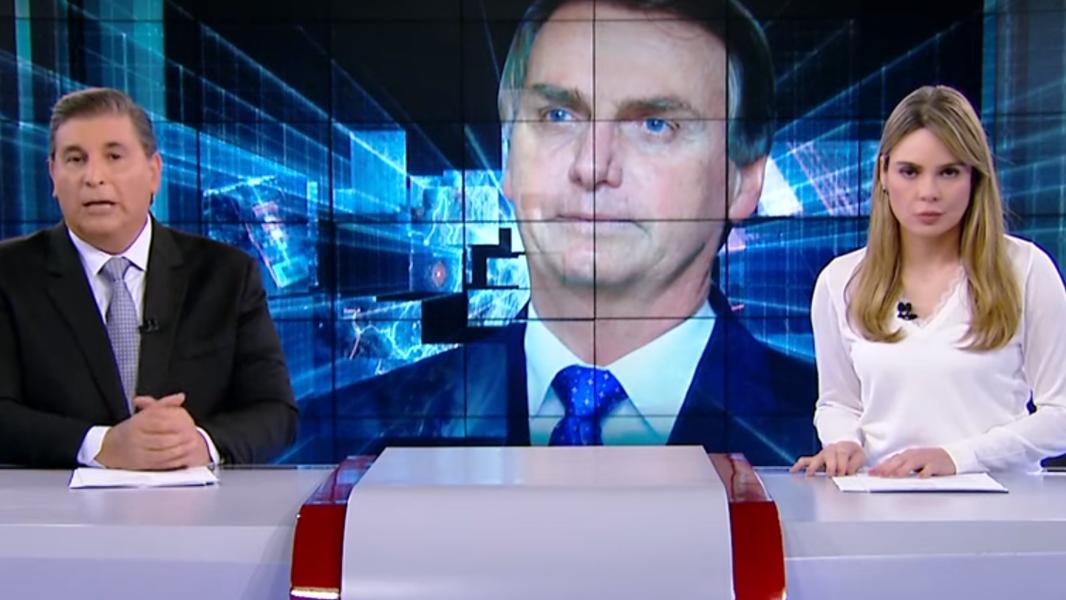 Ao vivo, Rachel Sheherazade desaprova texto sobre fala de Bolsonaro [Vídeo]