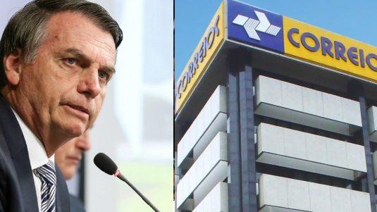 Governo anuncia privatização dos Correios nesta quarta